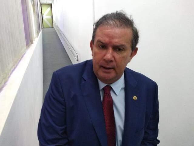 Eduardo Rocha é deputado estadual e esposo de Simone Tebet. (Foto: Leonardo Rocha)