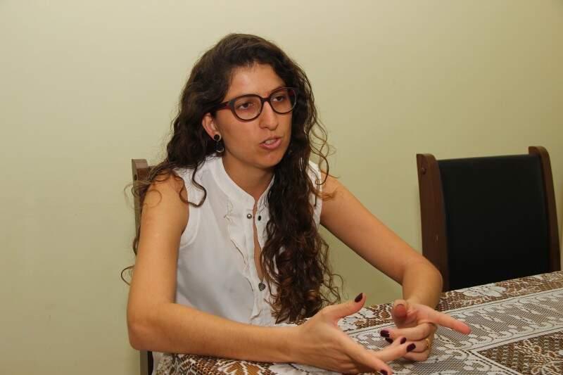 Marina Almeida Souza quer que a empresa vire a principal fonte de renda.