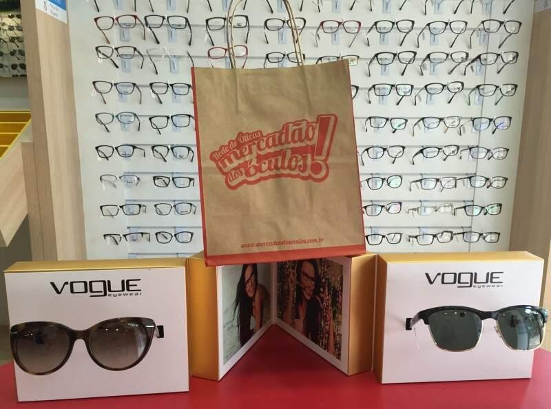 O Mercadão dos óculos fica na Rua Rui Barbosa, 2471  (Foto: Divulgação)