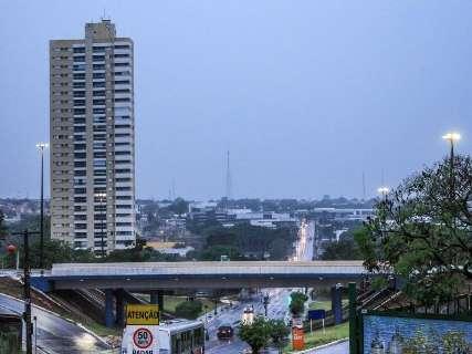 Após tempestade, 2ª-feira amanhece com chuva e mínima de 13ºC em MS