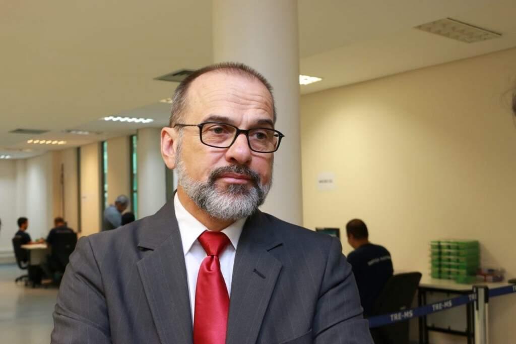 """""""A Justiça Eleitoral vai dar o resultado que a população quer"""", afirma juiz eleitoral. (Foto: Henrique Kawaminami)"""