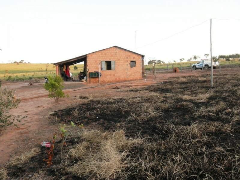 Foto atingiu 8,5 hectares (Foto: Divulgação/PMA)