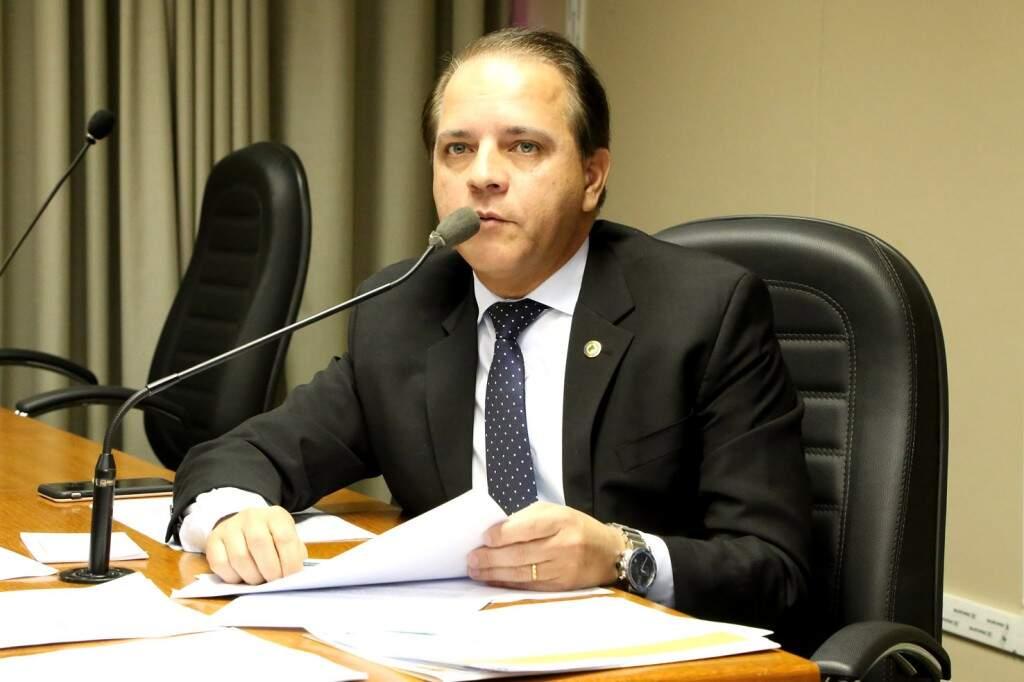 Coronel David terá que deixar o legislativo, com o retorno de Barbosinha (Foto: Assessoria/ALMS)