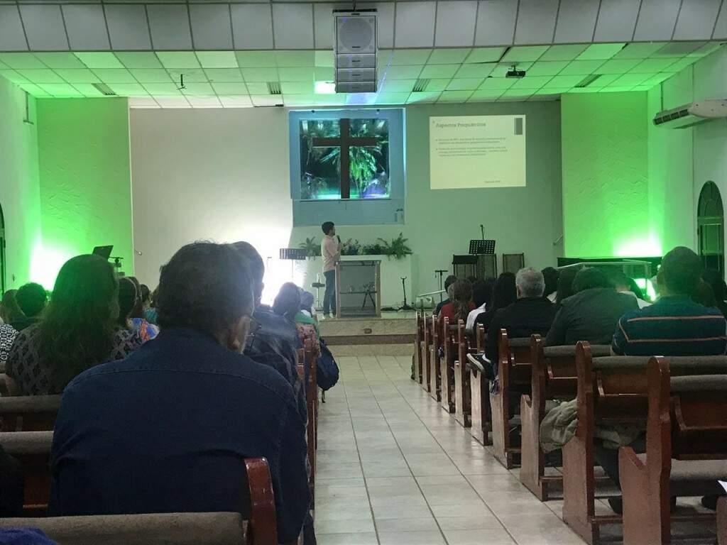 """4ª Igreja Batista para falar abertamente sobre o tema sem """"tabus"""". (Foto: Thailla Torres)"""