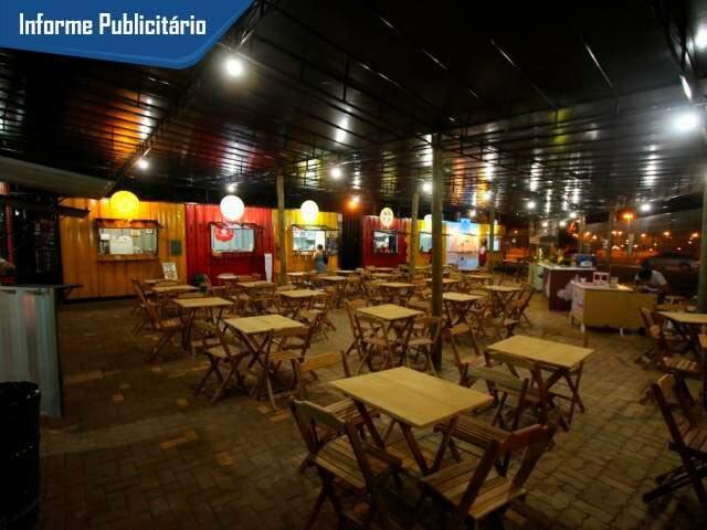 Sóter Food Park fica em frente do Parque do Sóter, na rua Cristóvão Lechuga Luego, número 270. (Foto: André Bittar)