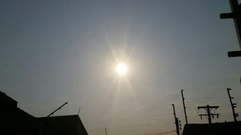 Em Dourados amanheceu 16°C, mas com sol. (Foto: Helio de Freitas)