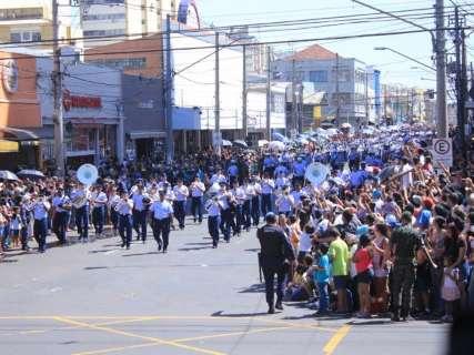 Desfile de 7 de Setembro também muda de endereço na próxima 6ª