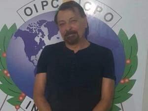 Battisti em foto divulgada após a prisão, em Santa Cruz, na Bolívia (Foto/Reprodução: Polícia boliviana)