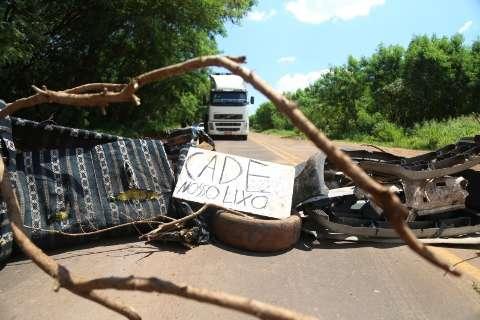 Solurb pede na Justiça multa para catadores que fecharem rodovia