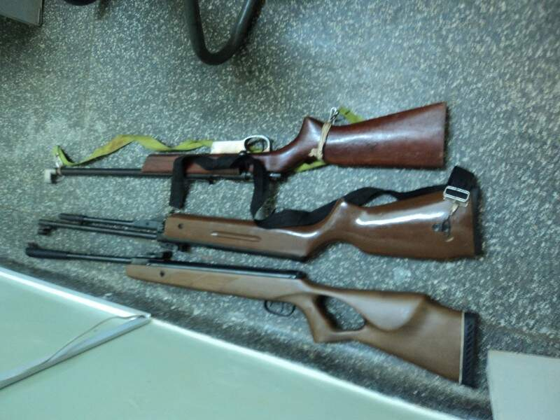 Todos os envolvidos na caçada já foram identificados e responderão pelo crime de caça ilegal. (Foto: Divulgação PMA)