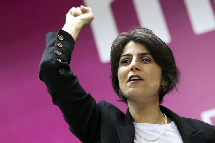 Manuela D'Ávila é a candidata pelo PCdoB (Foto: Marcelo Camargo/Agência Brasil)