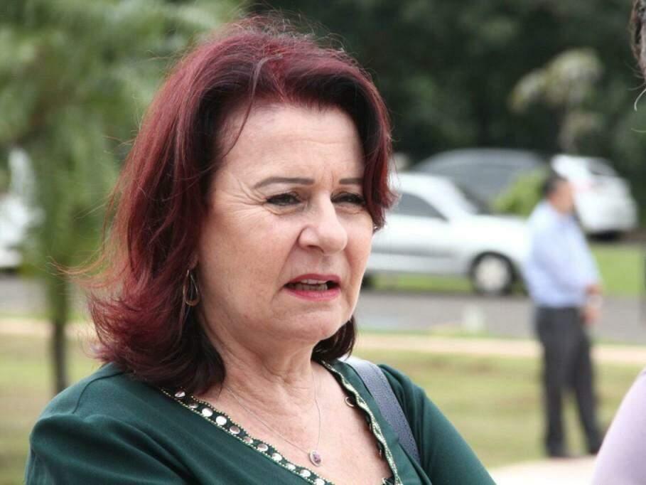 Maria Cecília Amendola da Motta, secretária de Educação de Mato Grosso do Sul. (Foto: Marcos Ermínio)