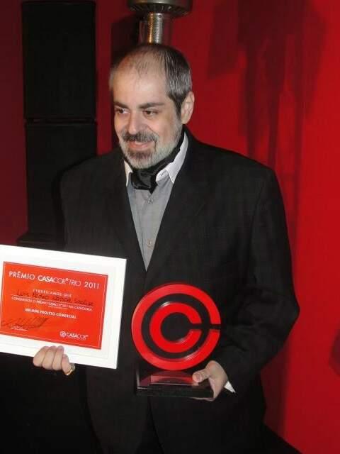 A premiação ocorreu no Jockey Clube de São Paulo, onde ocorre a Casa Cor Trio até o dia 4 de dezembro. (Foto: Divulgação)
