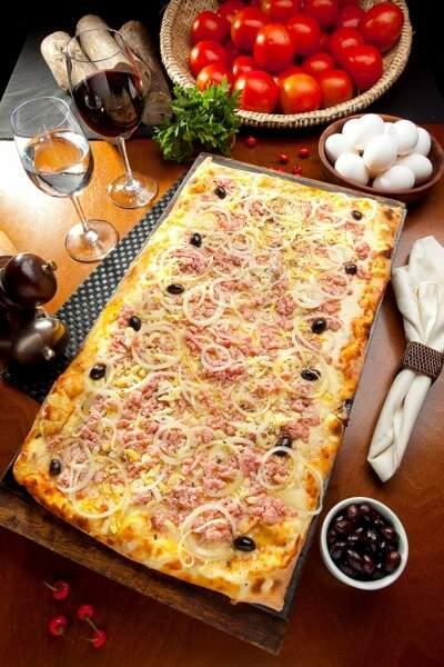Pizza Portuguesa. (Foto: Divulgação)