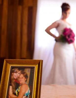 E esteve presente nos momentos antes do casamento. (Foto: Daniel Ribeiro)