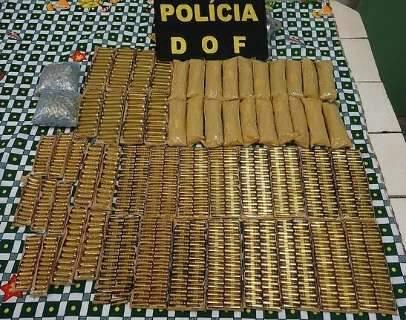 Paulistas são presos próximo à fronteira com mais de mil munições