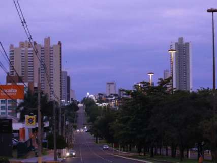 Quinta-feira tem chance de chuvas na Capital à tarde, máxima vai a 28ºC