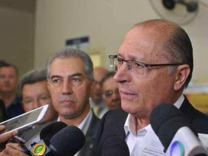 Alckmin participa de evento do PSDB em Campo Grande no dia 26 de maio