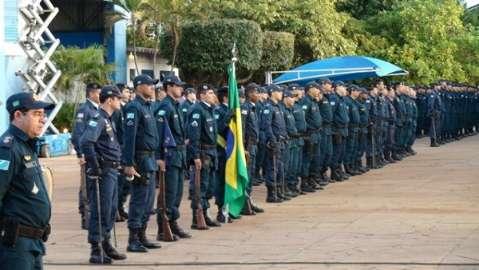 Naviraí e Nova Andradina recebem 156 novos soldados da Polícia Militar