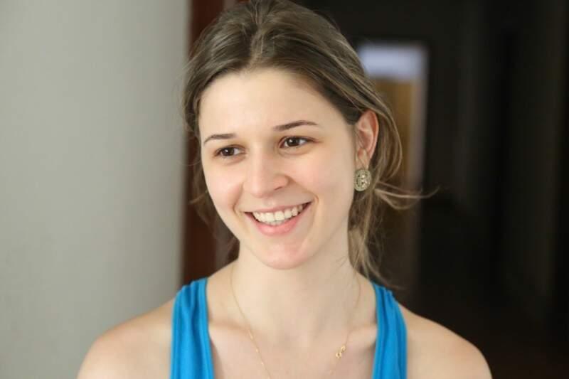 Elizandra pretende morar no seminário até o fim do curso de medicina.