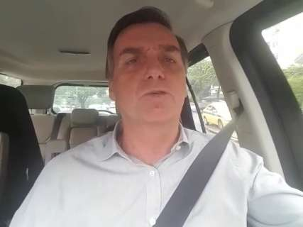 Bolsonaro faz alerta sobre golpista que usa o nome dele e age na Capital