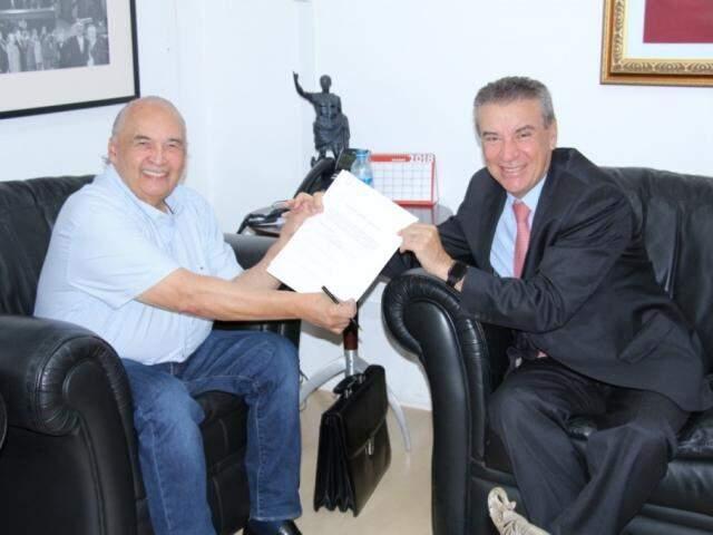 Paulo Corrêa (PSDB) já conseguiu também apoio de Londres Machado (PSD), para sua candidatura (Foto: Divulgação)