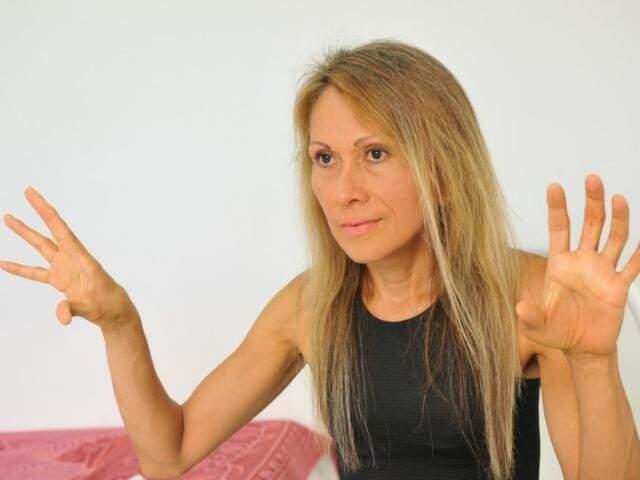 Aos 48 anos, acadêmica foi vítima de perseguição na UFMS. (Foto: Alcides Neto)