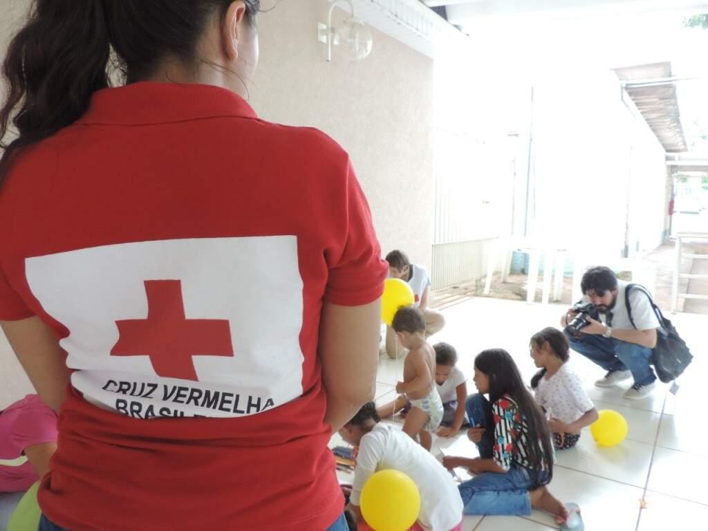 Imprensa marcou presença para ampliar o pedido de ajuda para a comunidade.