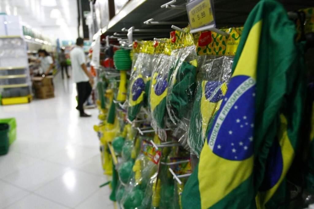Brasil faz jogo de estreia na Copa do Mundo em 17 de junho, um domingo. (Foto: Saul Schramm)