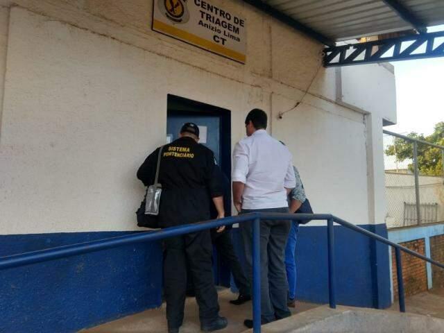 Ex-governador continua no Centro de Triagem Anizio Lima. (Foto: Liniker Ribeiro)