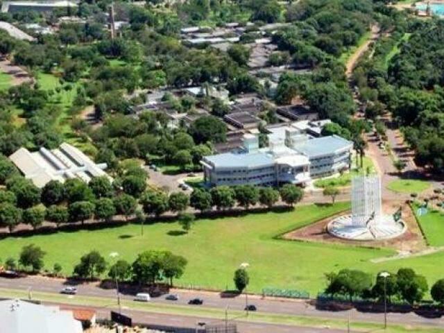 Unidade da UFMS em Campo Grande é o maior do Estado. (Foto: Divulgação)