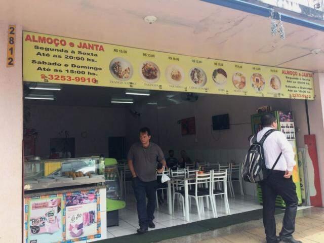 Comida Chinesa fica na Rui Barbosa, quase esquina com a Dom Aquino, no número 2.812. (Foto: Thaís Pimenta)