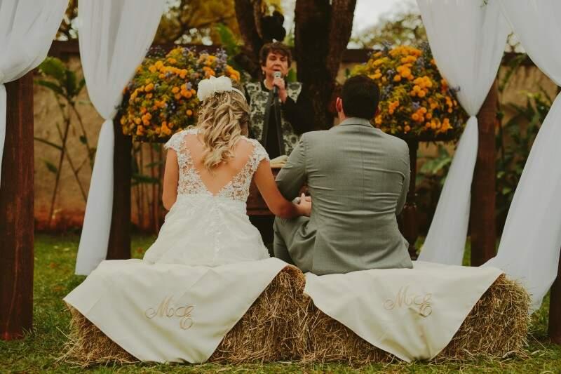 O casamento foi planejado em menos de três meses e o cenário foi a Casa Park. (Foto: Allan Kaiser)