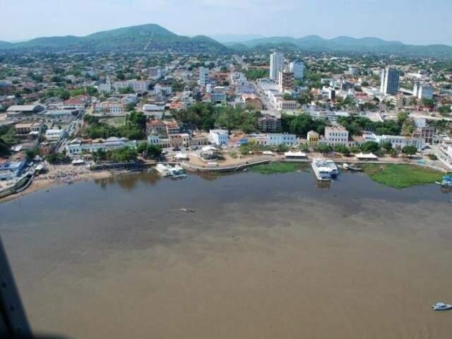 Corumbá é uma das 5 cidades afetadas pelo rompimento da estrutura em Terenos (Foto: Divulgação/Prefeitura)