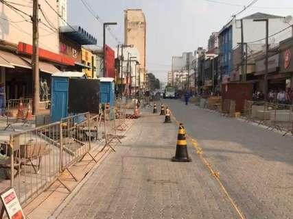 Trechos da 14 de Julho voltam a ficar interditados para obras