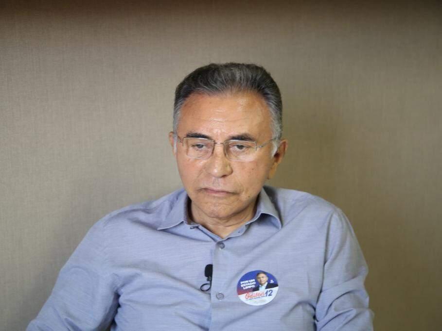 Odilon de Oliveira, do PDT, no Campo Grande News. (Foto: Guilherme Rosa/Arquivo).
