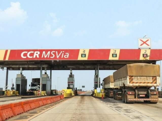 CCR MS Via assumiu a BR-163 em 2013. (Foto: Arquivo)