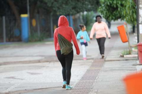 Em madrugada gelada, cidades de MS registram sensação térmica de 2°C