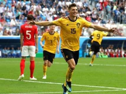 Bélgica supera Inglaterra e fica com o terceiro lugar da Copa do Mundo