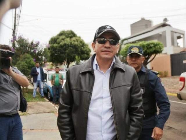 Admilson (de óculos) foi preso em 16 de maio em operação do Gaeco. (Foto/Arquivo Fernando Antunes)