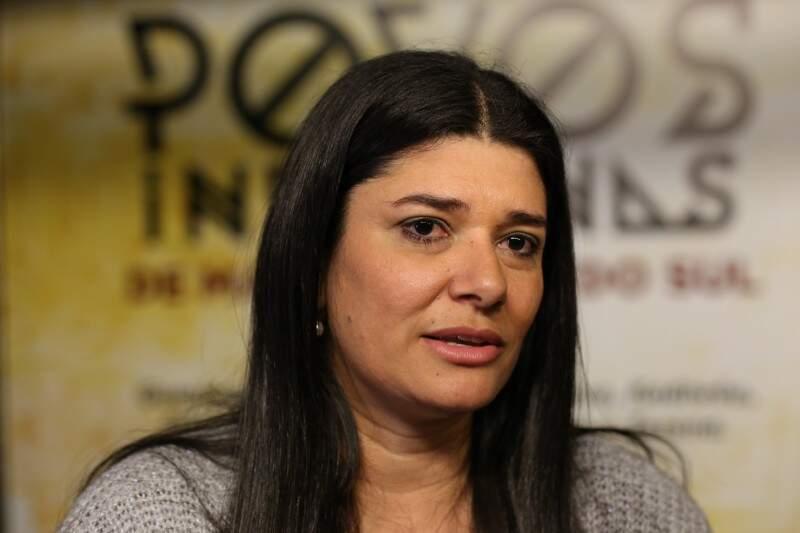 A vice-governadora Rose Modesto comentou sobre o processo de escolha de seu vice para as eleições deste ano. (Foto: Fernando Antunes)