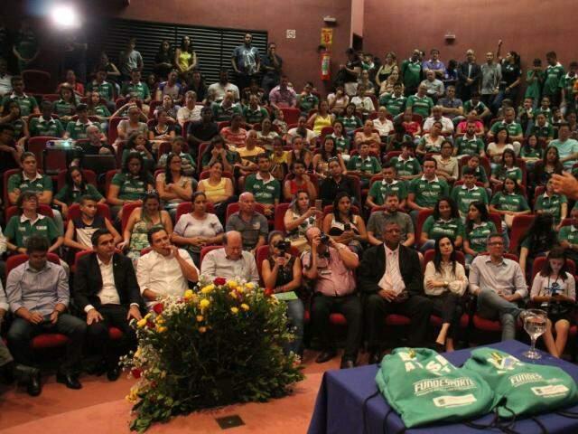 Candidatos disputam cagas do bolsa-atleta (Foto: Divulgação - Fundesporte)