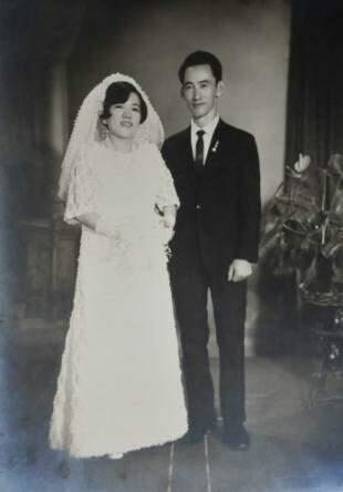 Casamento do dois. (Foto: Arquivo Pessoal)