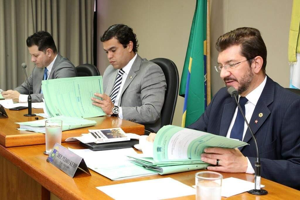 Deputado Pedro Kemp diz que apresenta parecer na semana que vem (Foto: Victor Chileno/ALMS)