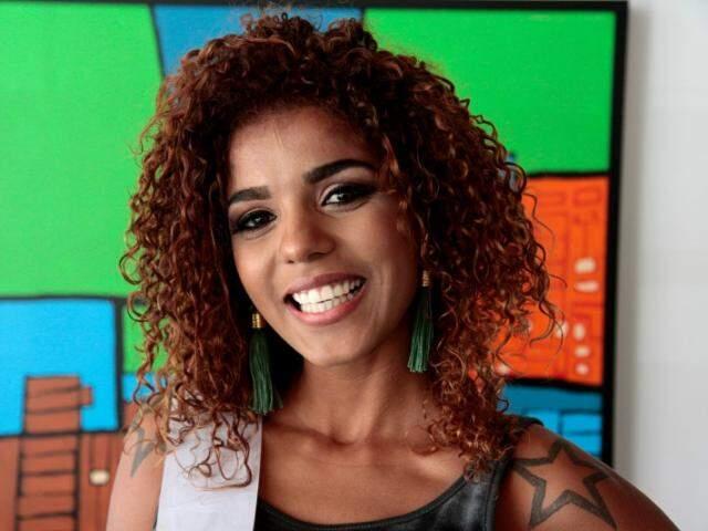 Monique, representante de Corumbá: (Foto: Cleber Gellio)