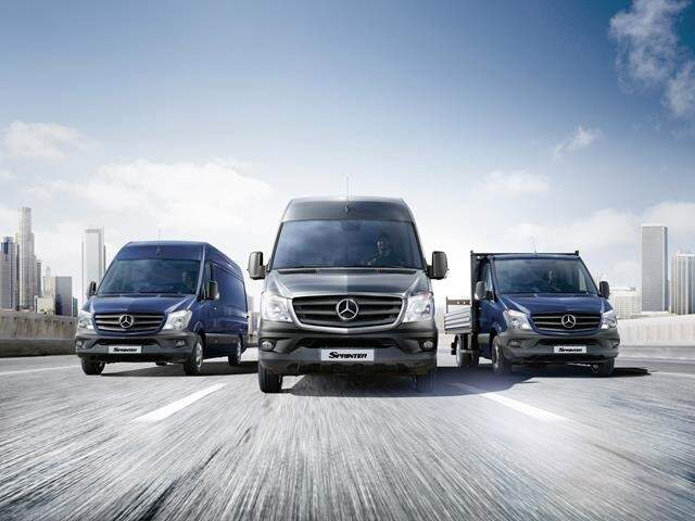 Mercedes-Benz lança linha 2017 da Sprinter