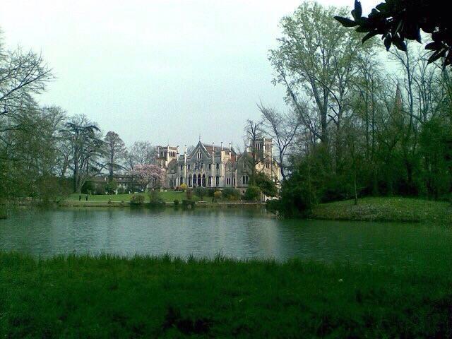 """Castelo """"Papadopoli Giol"""" foi escolhido como cenário para o casamento. (Foto: Arquivo Pessoal)"""