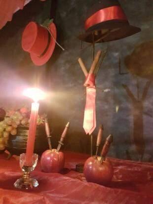 Frutas e objetos que simbolizam a esperança em um ano melhor. (Foto: Angela Kempfer)