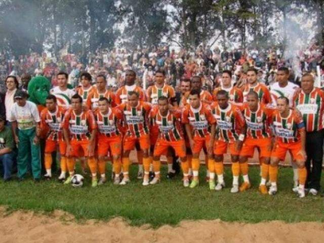 Elenco campeão da Série A há 10 anos (Foto: Arquivo)