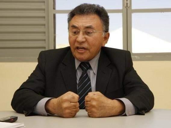 Odilon de Oliveira, quando ainda atuava como juiz federal, em entrevista ao Campo Grande News (Foto: Arquivo)
